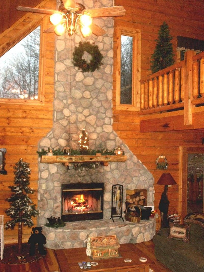 Chimney log cabin in brown county Our honeymoon cabin Cant wait