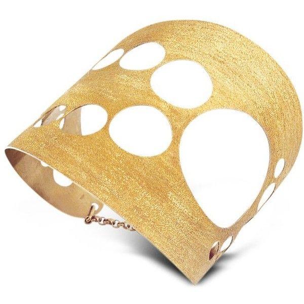 Stefano Patriarchi Gold Plated Sun Bangle byT05sdJ4