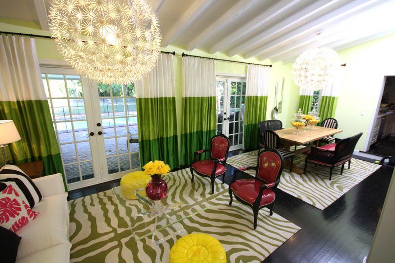Interiors   David Bromstad   Decor, Living room drapes ...