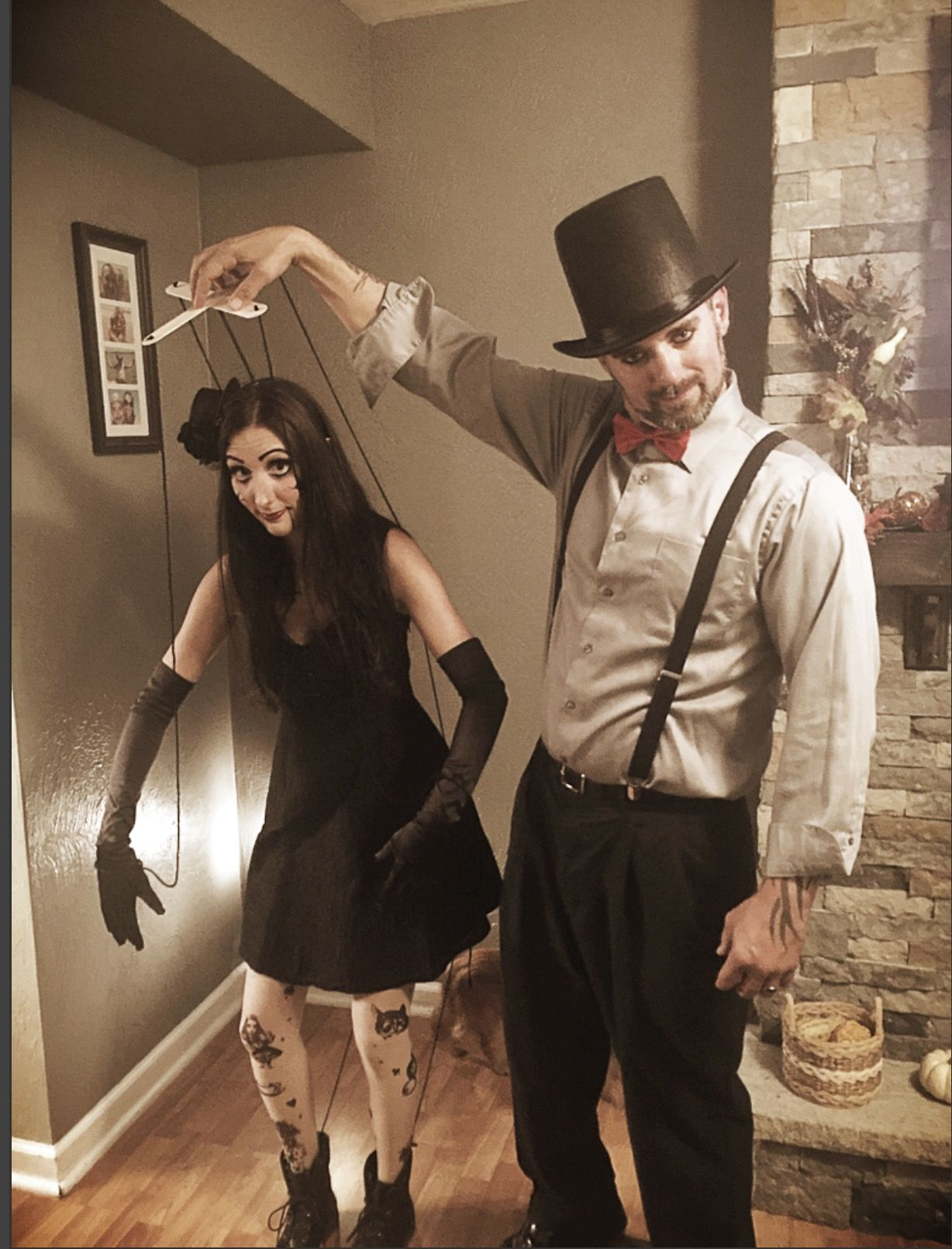 Halloween 2020 Is Laurie Puppetmaster Marionette and her puppet master!! | Diy couples costumes, Couples