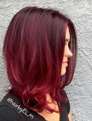 40 Fresh Trendy Ideas For Copper Hair Color Hair Inspiration Color Red Ombre Hair Burgundy Hair