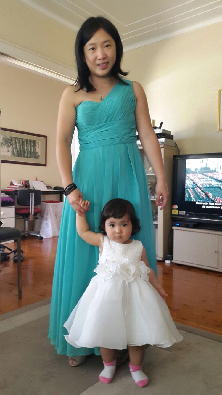 Maid of Honour and Flower Girl