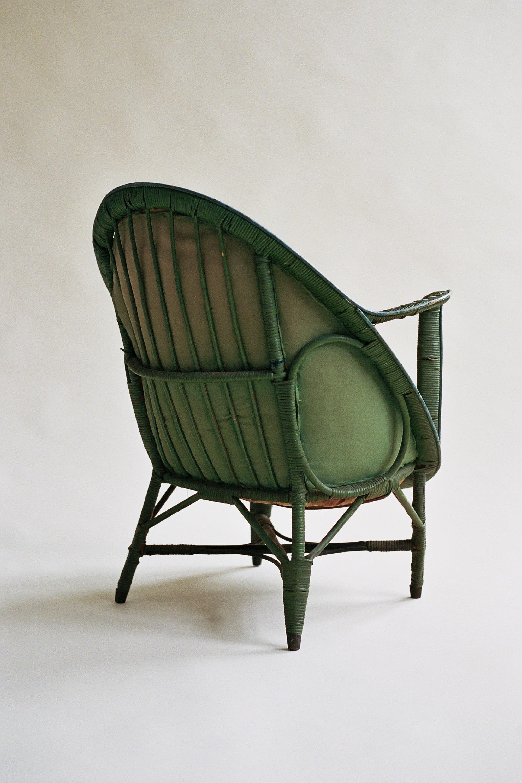 Rattan Chair, as seen in Adolf Loos\' Villa Müller, Czech Republic ...