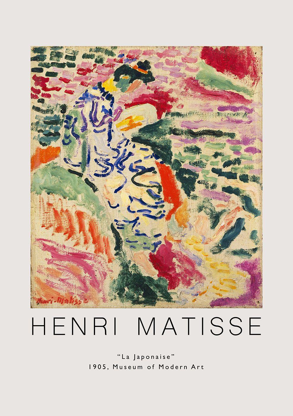 Henri Matisse Wall Art, Printable Matisse Poster, Vintage Instant ...