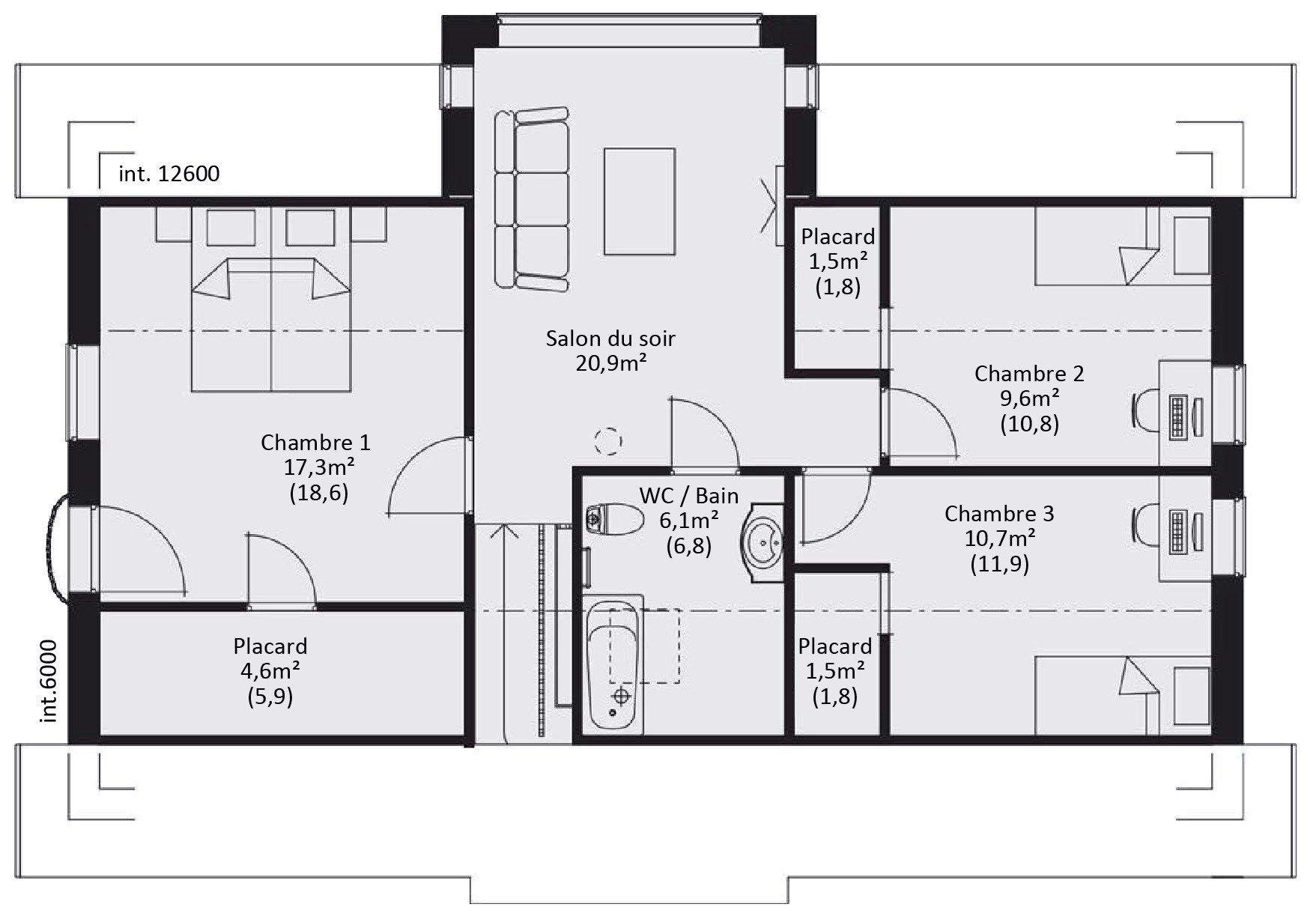 Victoria Maison Familiale Avec Tour Centrale Et Plan En L 4