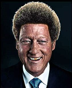 Image result for bill clinton A BLACK MAN