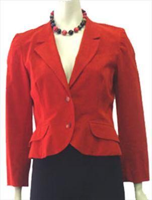 Red Mollie Parnis Designer Jacket  $40.00