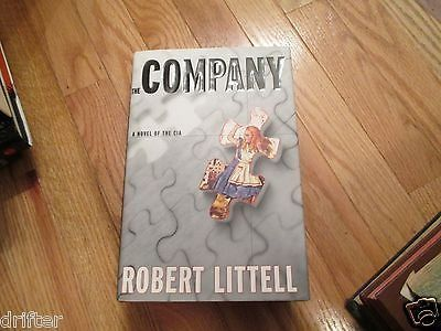 Awesome The Company Novel Of CIA By Robert Littell HC Book