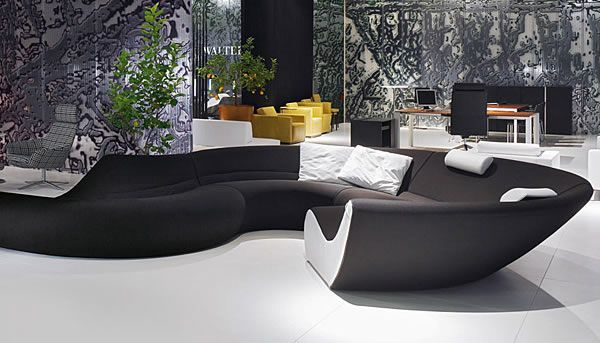 Fluid Entertaining Circle Seating By Walter Knoll Modular Sofa Design Sofa Couch Design Sofa Design
