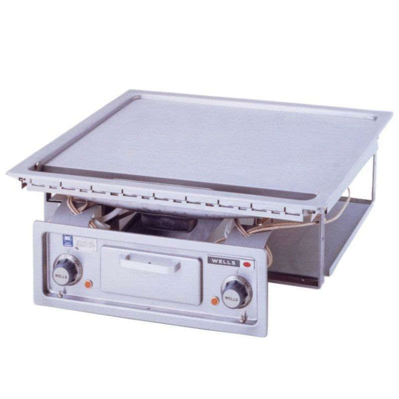 Wells G 136 24 Drop In Electric Countertop Griddle 208 240v 9000w Countertops Griddles Cape House