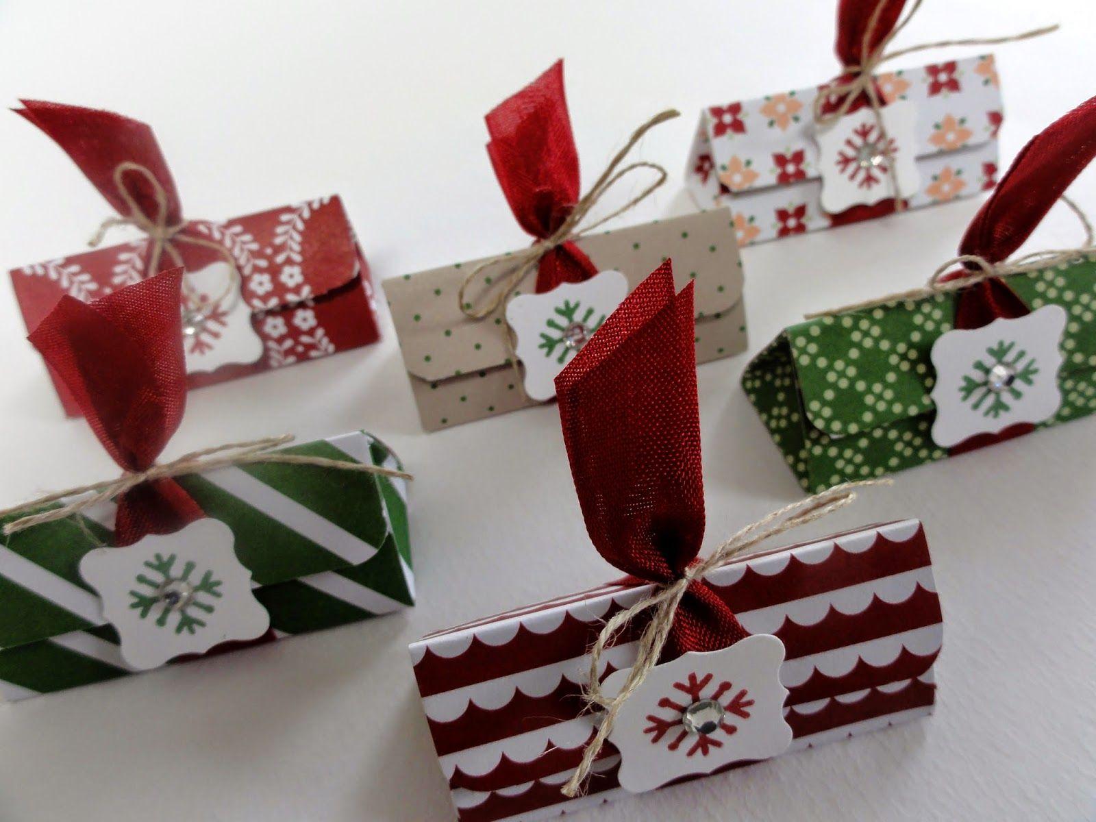 Cadeau de table pour Noël Stampin'Up! http://jesuiscreative