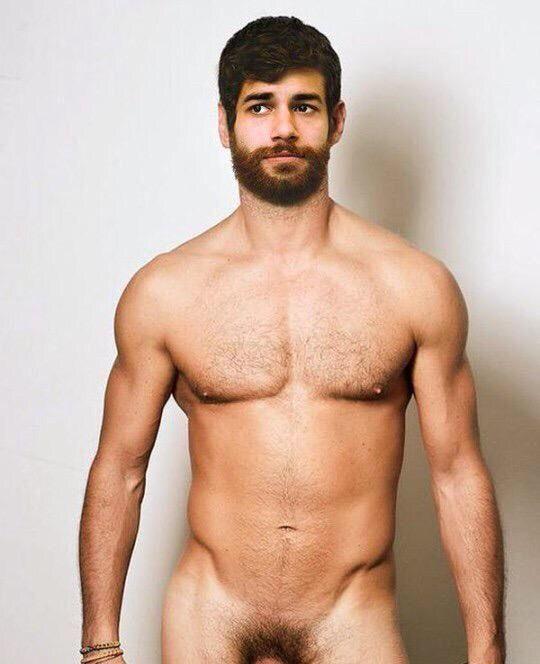 Hombre peludo desnudo 2018