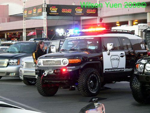 Lifted Police Cars Toyota Fj Cruiser Police Interceptor