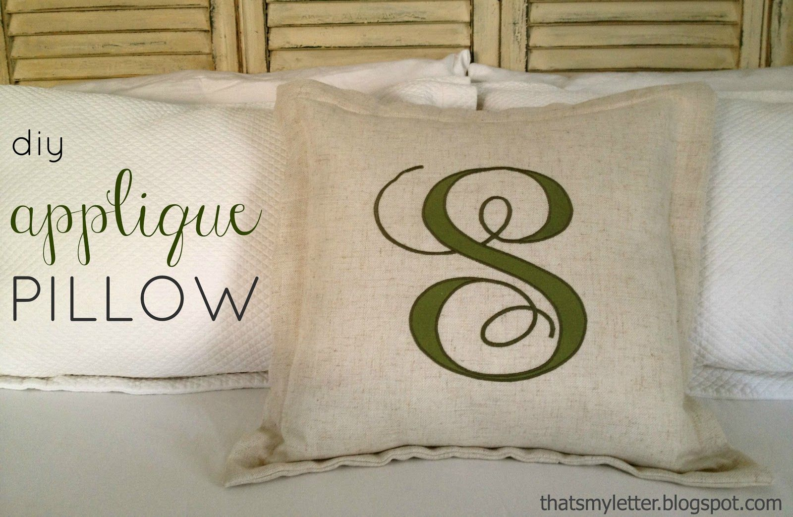Applique pillow decor ideas pinterest applique pillows