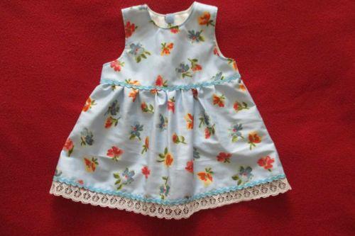 Puppenkleidung-Puppensachen-Sommerkleid-Babypuppe-46-48cm-Puppenbekleidung