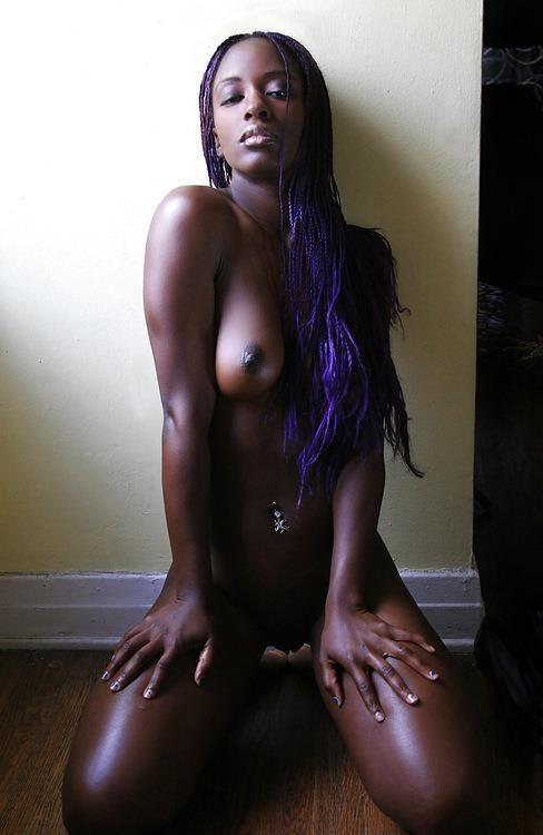 Very dark black girl porn