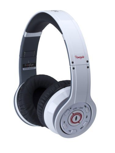 FrogEye BT-H10-2 Renegade H10, Noise Cancelling Wireless Headphones -White - http://androidizen.com/shop/frogeye-bt-h10-2-renegade-h10-noise-cancelling-wireless-headphones-white/