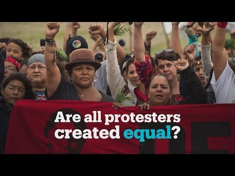 Protesters at Standing Rock v Occupiers of Oregon standoff - YouTube