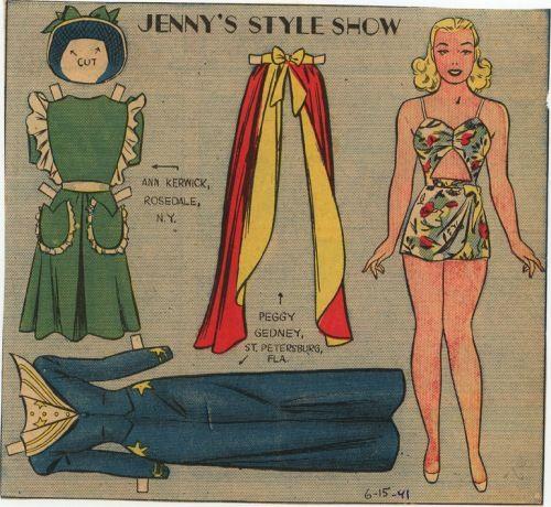 Jenny's stylish 1940s fashion show  Auf marlendy.wordpress.com