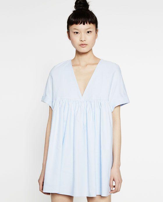 1880b56fc Image 4 of LOW-CUT JUMPSUIT DRESS from Zara