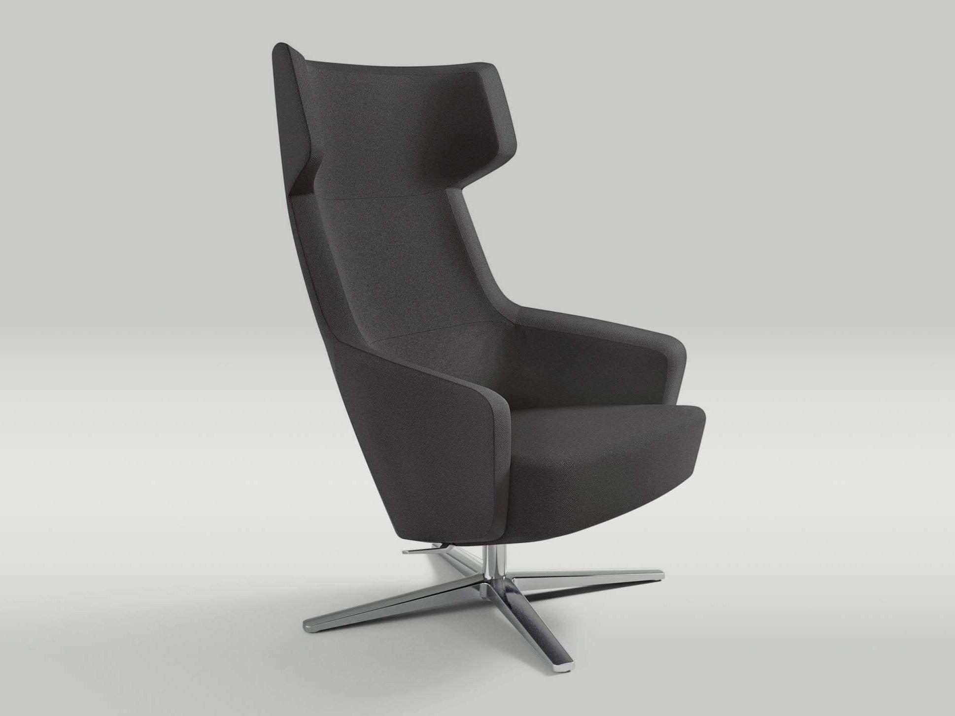 Recliner Armchair With Base With Armrests ARTEMO By Brunner Design Roland  Schmidt