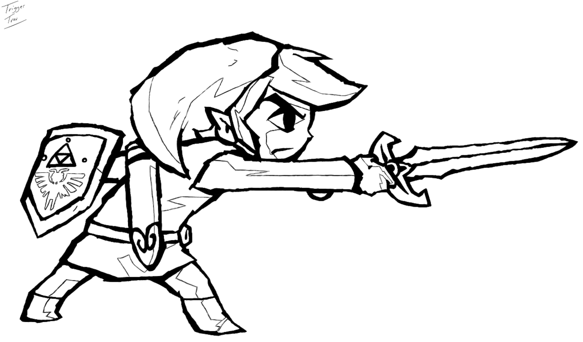 link zelda coloring pages - Google Search | Coloring Pages & Stencil ...