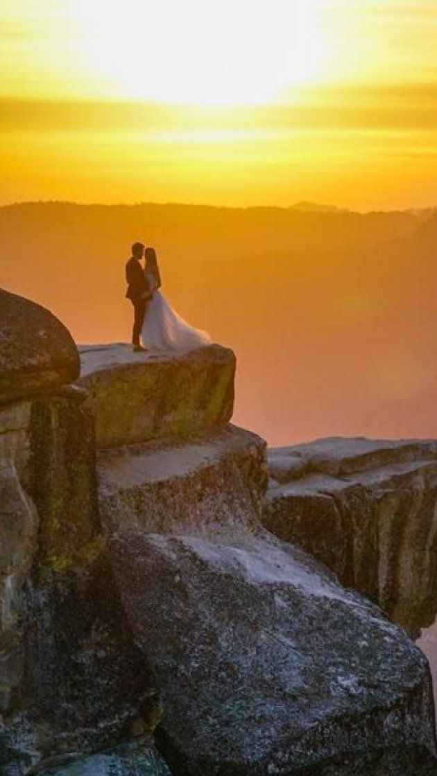 Search for mystery newlyweds captured in gorgeous Yosemite photo sets internet…