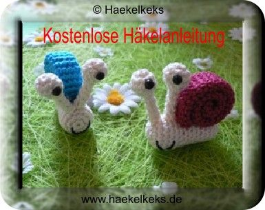 Kostenlos Schnecke Häkeln Gratis Anleitung Crochet Toys