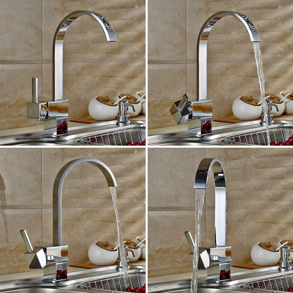 LOOP Hoher Auslauf Küchenarmatur Kitchen Faucet NVT17