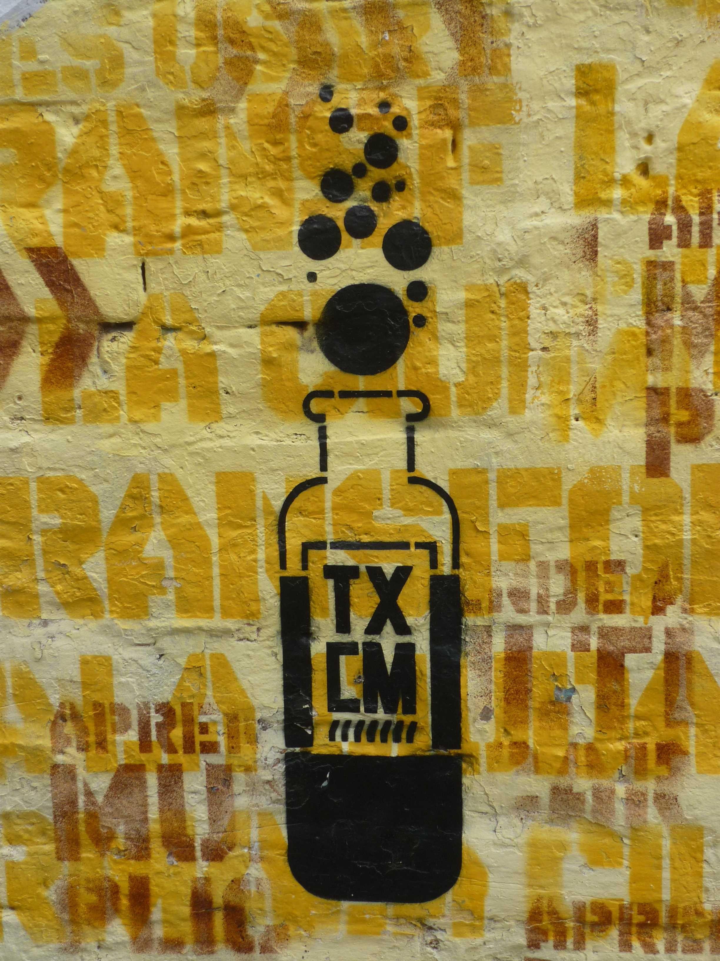 Dirección: Calle 31 arriba de la Caracas. Artista: Toxicómano.
