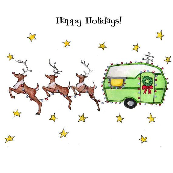 Image result for happy holidays rv image