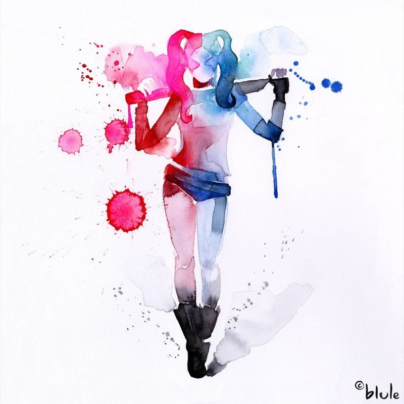 Harley Quinn - Blule, The Boutique