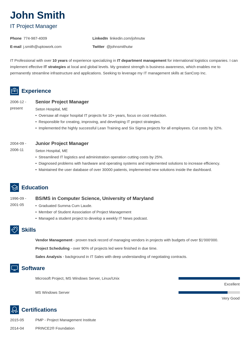 12 Resume Templates For Microsoft Word 2010 Free Resume