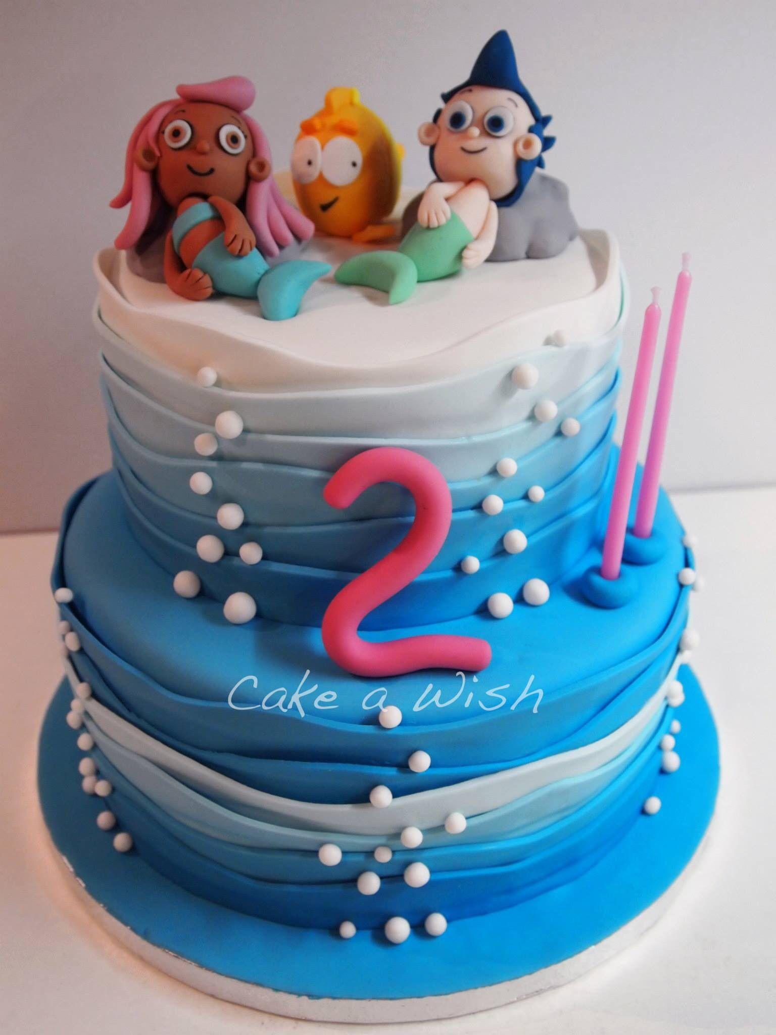 Bubble Guppies Cake Cakes