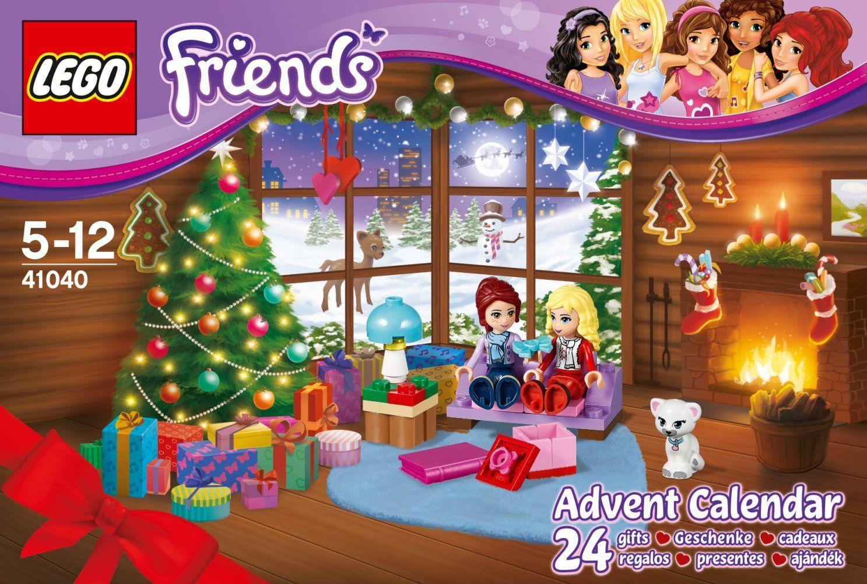 Lego Friends Calendrier De L Avent.Lego Friends 41040 Jeu De Construction Le Calendrier