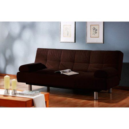 Etonnant Atherton Home Manhattan Convertible Futon Sofa Bed And Lounger, Multiple  Colors, Brown