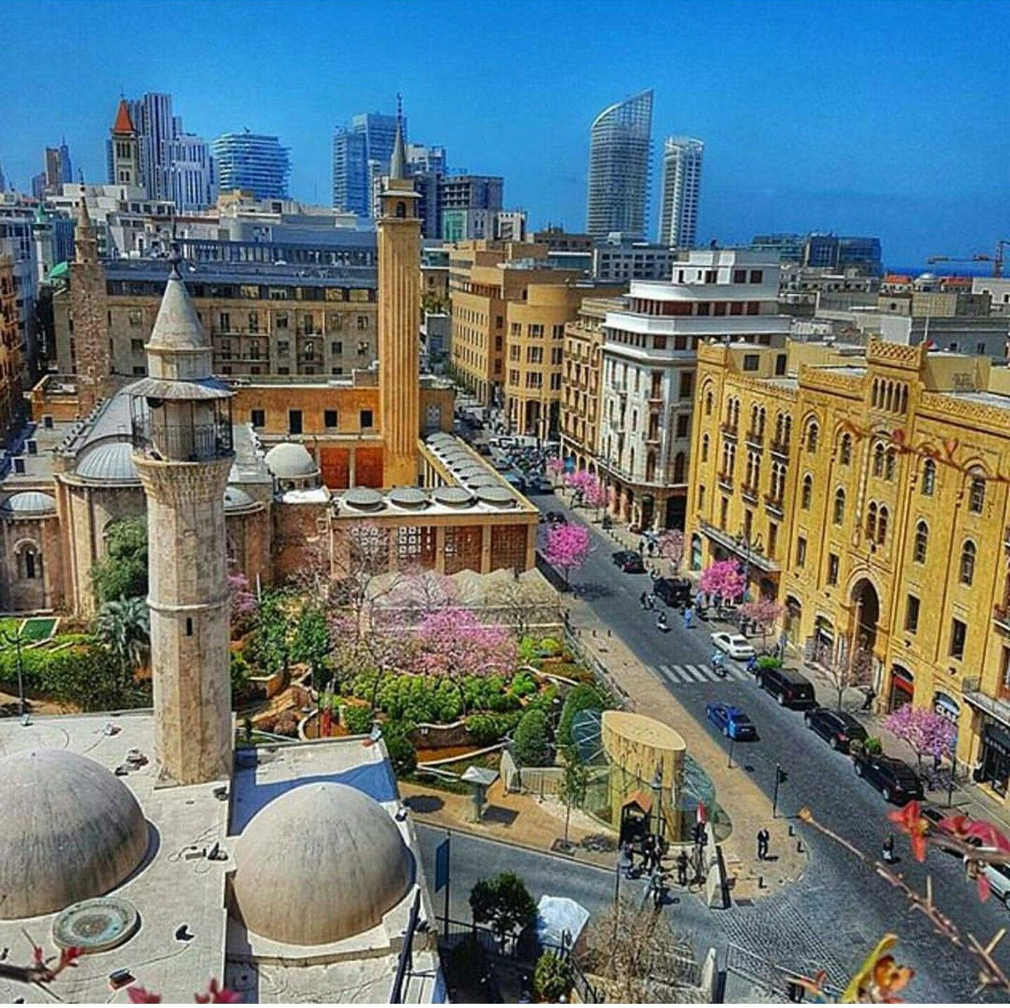 Downtown Beirut With Images Lebanon Culture Travel Beirut
