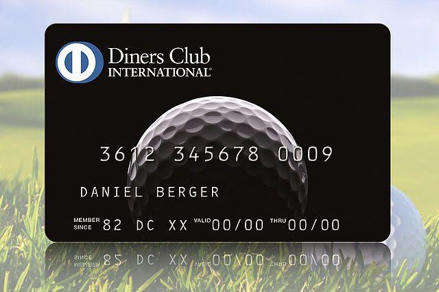 Diners Club Switzerland Golf Card