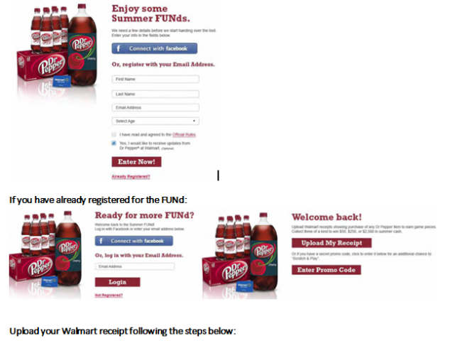 Celebrate Summer With Walmart & Dr Pepper!! Win Walmart gift cards ...