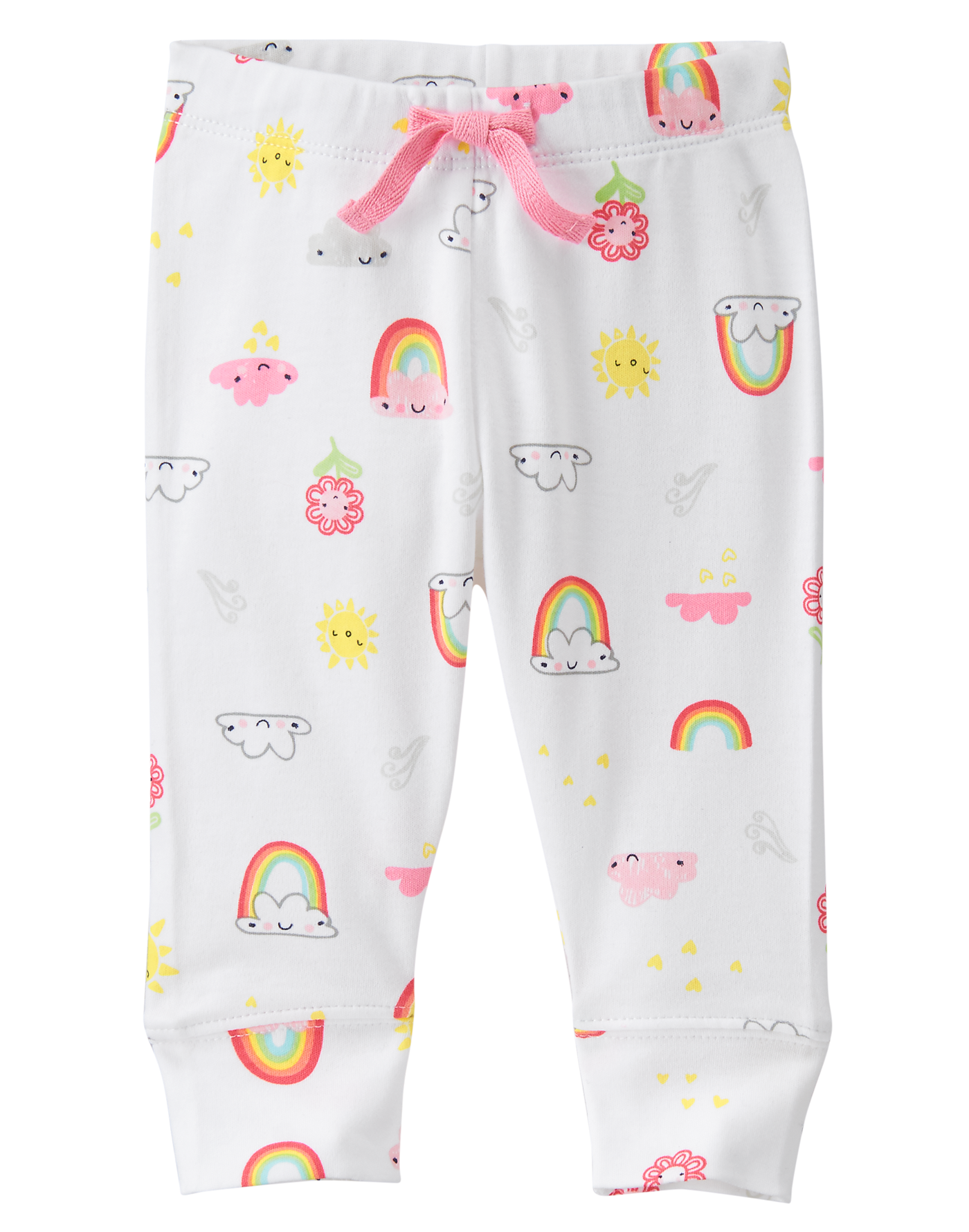 Essentials Boys Infant Cotton Pull-on Pants