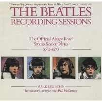 Livro Complete Beatles Recording Sessions Mark Lewisohn