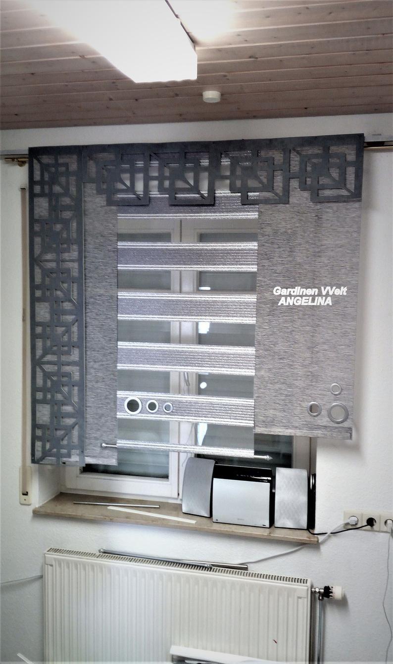 Flat Curtains Set Modern!!! in 17  Modern window design