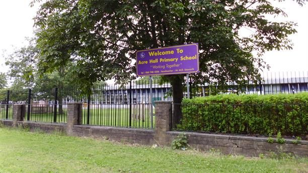 Wellacre Infants school   (formerly) on Irlam Road, Flixton, Manchester.  I attended from 1955 - 57