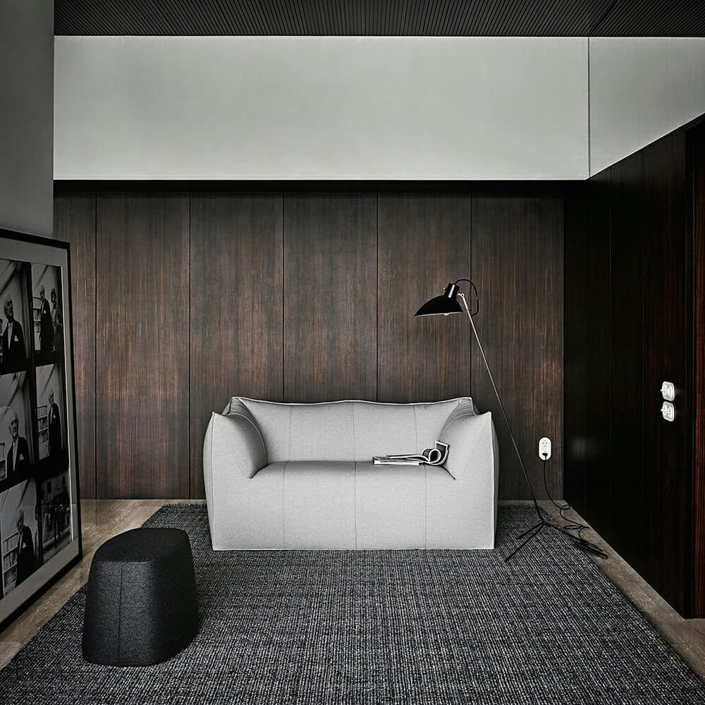 B B Italia On Instagram Novel Furniture Shapes Take Centre Stage In The Modern Haus Kemper Built In Germany By Rich Interior Furniture Interior B B Italia