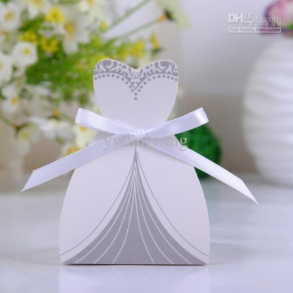 Wholesale Wedding Box   Buy Tuxedo And Gown Favor Boxes Color Box .