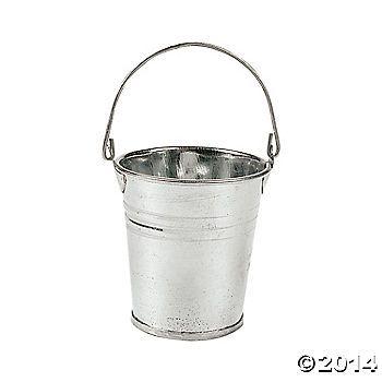 Mini Galvanized Metal Pails Oriental Trading Metal Pail Mini Bucket Metal Bucket