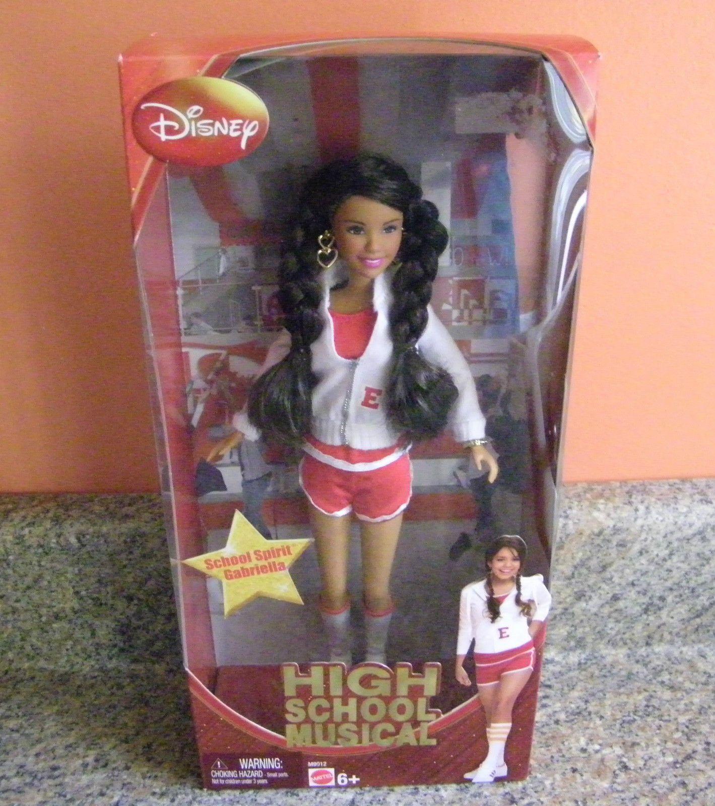 Disney S High School Musical School Spirit Gabriella Doll By  # Gabriela Gez Muebles