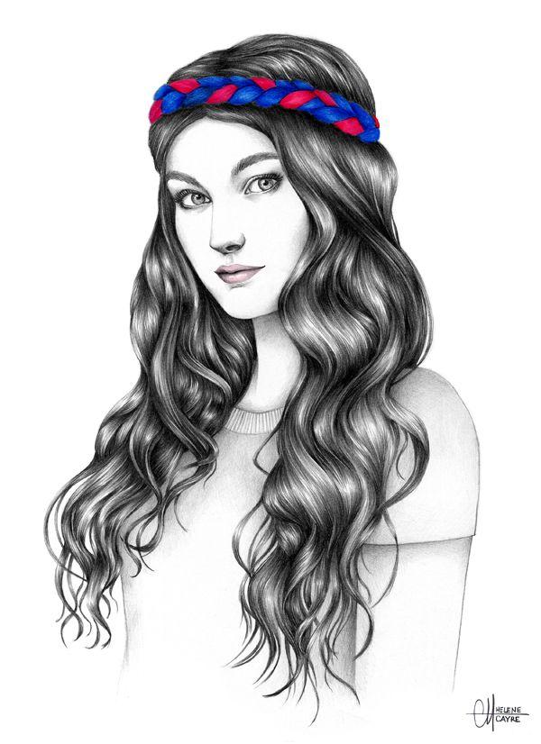 17 Best images about dessin de cheveux arts appliqués on Pinterest ...
