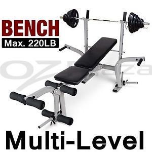 Everfit 7in1 Weight Bench Multi Function Power Station Fitness Gym Equipment Weight Benches Home Multi Gym Multi Gym