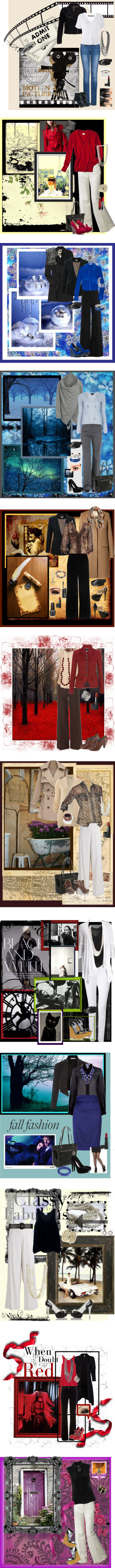 """""""Favorite Outfits of 2012"""" by madonah42 on Polyvore"""